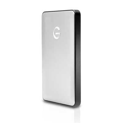 GTechnology 1TB GDrive Mobile USBC Hard Drive  Silver