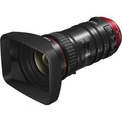 Image of Canon CN-E 18-80mm T4.4 Cine Lens