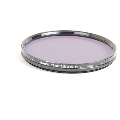 Used Canon 72mm PLC Polariser - Circular Type Filter