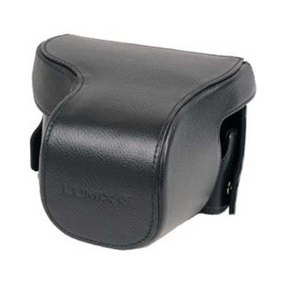 Panasonic DMW-CGK34E-K Leather Case  - Black