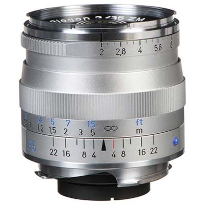 Zeiss 35mm f2 T* Biogon ZM Silver Lens – Leica Fit