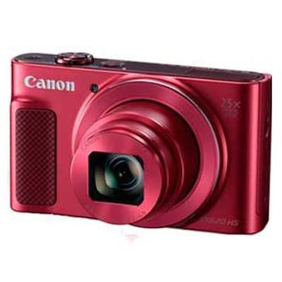 Used Canon PowerShot SX620 HS Digital Camera - Red