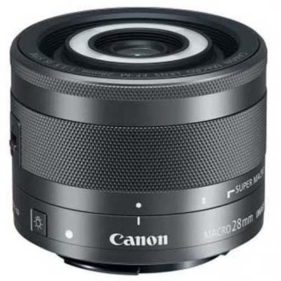 Image of Canon EF-M 28mm f3.5 Macro IS STM Lens