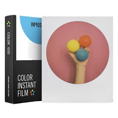 Impossible Project Color Film Round Frame for 600