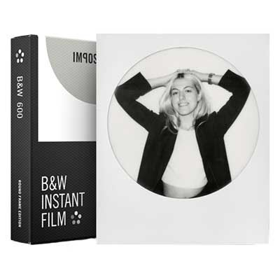 Impossible Project BW Film Round Frame for 600