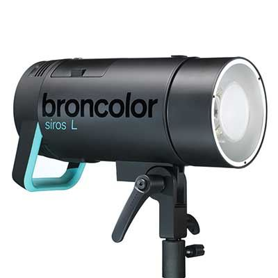 Broncolor Siros 400 L WiFi / RFS2 Flash Head with Flash Bag 1.1
