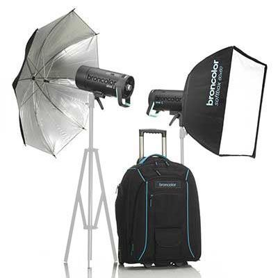 Broncolor Siros 400 L WiFi / RFS2 Outdoor Twin Head Kit 2