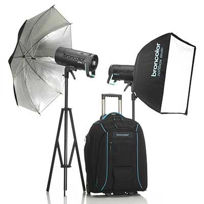Broncolor Siros 800 L WiFi / RFS2 Outdoor Twin Head Kit 2