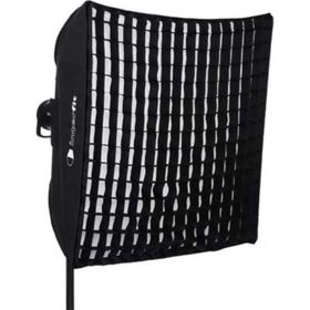 Interfit 90cm Square Softbox with Grid