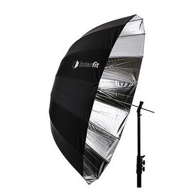 Interfit 51 inch Silver Parabolic Umbrella