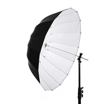 Interfit 40 inch White Parabolic Umbrella