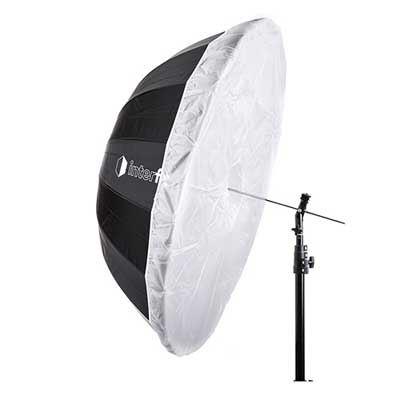 Interfit 40 inch Translucent Diffuser for Parabolic Umbrella