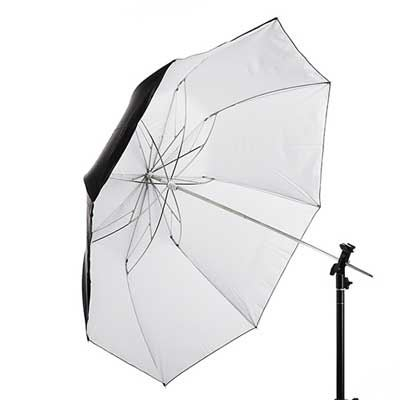 Interfit 43 inch Tri-Fold White Umbrella
