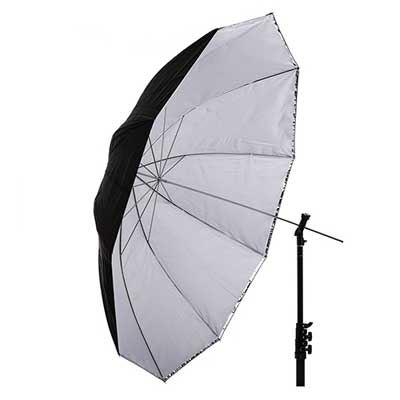Interfit 60 inch Translucent/Silver Convertible Umbrella