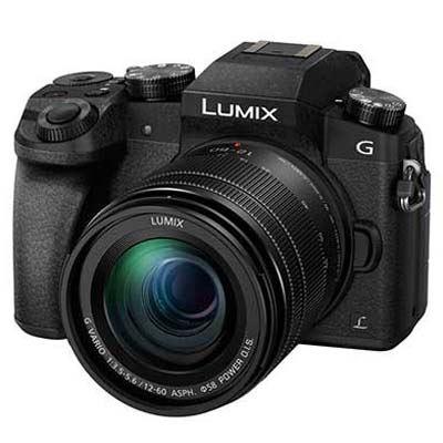 Panasonic Lumix DMC-G7 Digital Camera with 12-60mm Lens