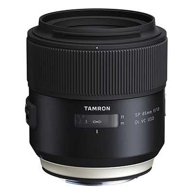 Tamron 85mm f1.8 SP Di VC USD Lens - Nikon Fit