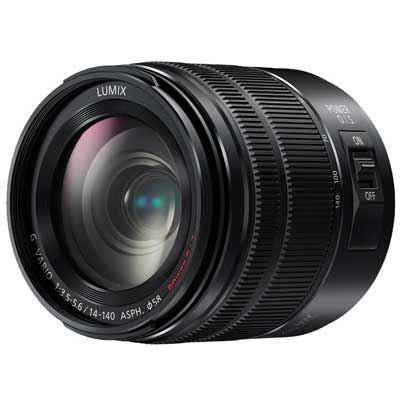 Panasonic 14-140mm f3.5-5.6 G Vario ASPH Power OIS Micro Four Thirds Lens