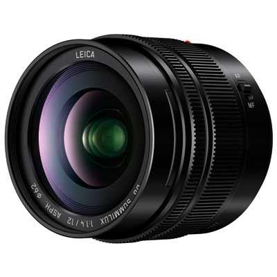 Panasonic 12mm f1.4 ASPH LEICA DG SUMMILUX Lens