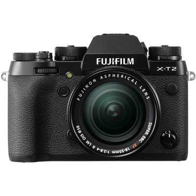 Fujifilm X-T2 Digital Camera with 18-55mm XF Lens