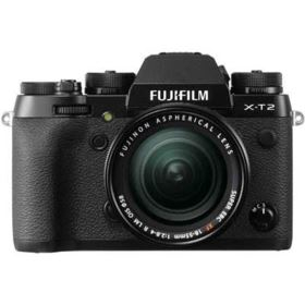 Fujifilm X-T2 Digital Camera with 18-55mm XF Lens
