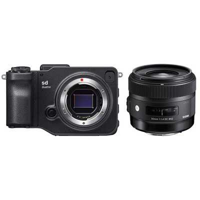 Sigma sd Quattro with 30mm f1.4 Art Lens