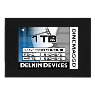 Delkin 1TB (560MBSec) 2.5 Inch Cinema SSD Drive