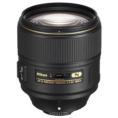 Image of Nikon 105mm f1.4E ED AF-S Lens
