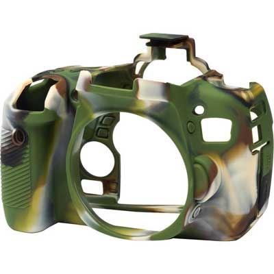 Image of Easy Cover Silicone Skin for Canon 760D Camo Pattern