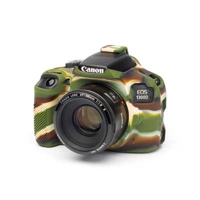 Image of Easy Cover Silicone Skin for Canon 1300D Camo Pattern