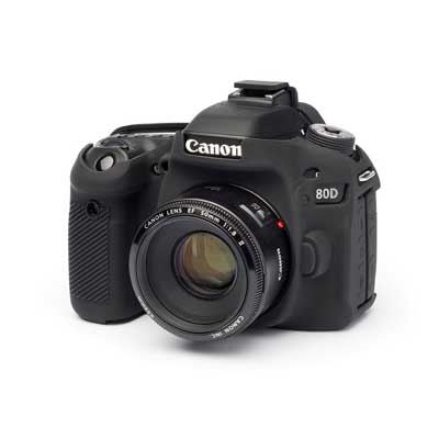 Image of Easy Cover Silicone Skin for Canon 80D