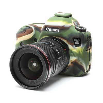 Image of Easy Cover Silicone Skin for Canon 6D Camo Pattern