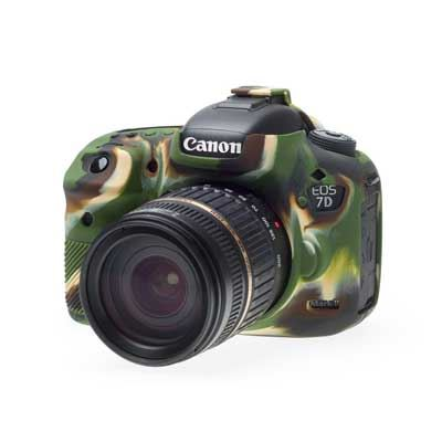 Image of Easy Cover Silicone Skin for Canon 7DM2 Camo Pattern