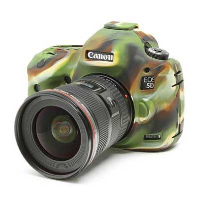 Image of Easy Cover Silicone Skin for Canon 5D Mk3 Camo Pattern