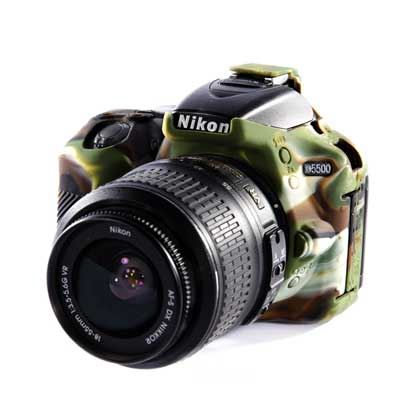 Easy Cover Silicone Skin for Nikon D5500 Camo Pattern