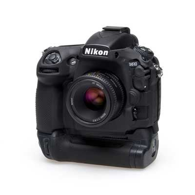 Easy Cover Silicone Skin for Nikon D810 Plus Battery Grip Black