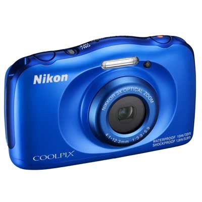 Nikon Coolpix W100 Camera  Blue