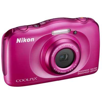 Nikon Coolpix W100 Camera  Pink