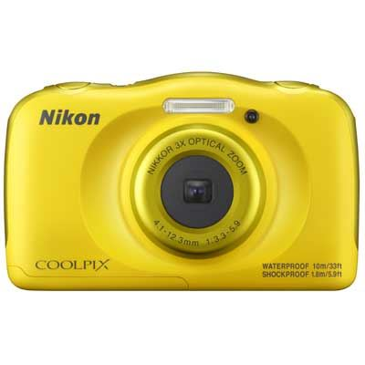 Nikon Coolpix W100 Camera  Yellow