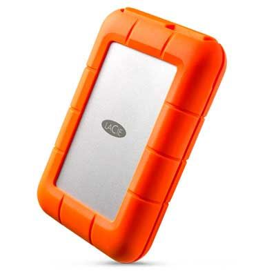 Lacie Rugged RAID Thunderbolt USB 3.0 Portable Hard Drive - 4TB