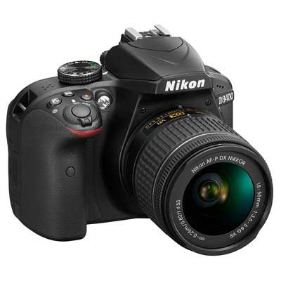 Nikon D3400 Digital SLR Camera with 1855mm AFP VR Lens