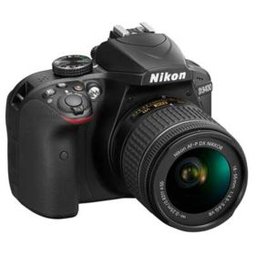 Nikon D3400 Digital SLR Camera with 18-55mm AF-P VR Lens