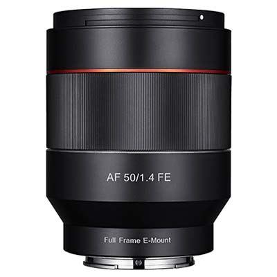 Samyang AF 50mm f1.4 Lens - Sony FE Fit