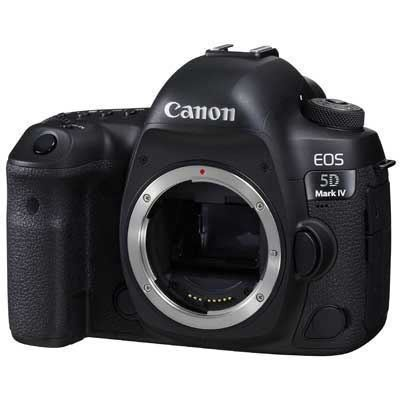 Image of Canon EOS 5D Mark IV Digital SLR Camera Body