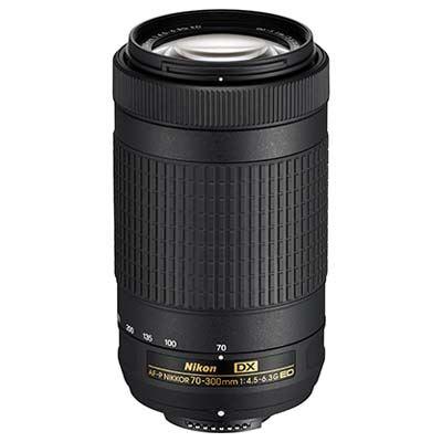 Nikon 70-300mm f4.5-6.3 G ED DX AF-P Nikkor Lens