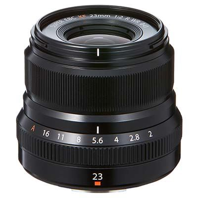 Fujifilm XF 23mm f2 R WR Lens - Black