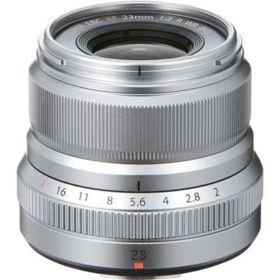 Fujifilm XF 23mm f2 R WR Lens - Silver
