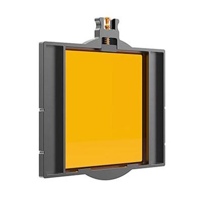 Image of Bright Tangerine 4x4 inch Filter Tray for Misfit Matte Box