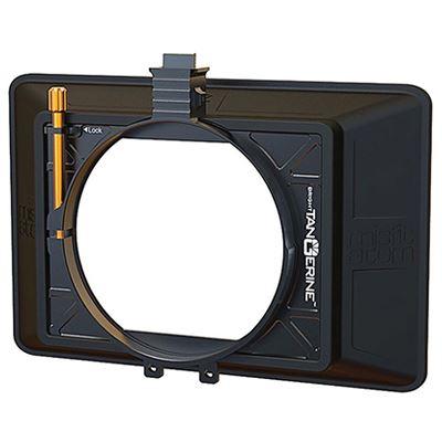 Bright Tangerine Misfit Atom 4×5.65/4×4 Inch Ultra Lightweight 2-Stage Matte Box