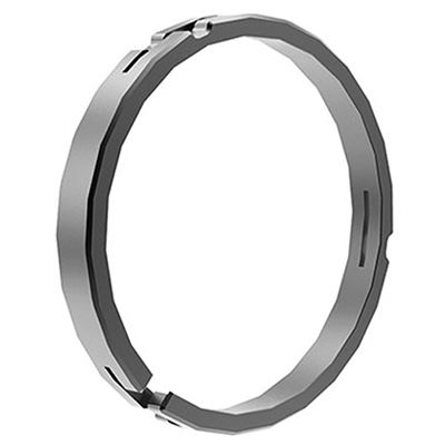 Image of Bright Tangerine Misfit 114 - 104 mm Clamp on Ring