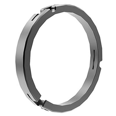 Image of Bright Tangerine Misfit 114 - 100mm Clamp on Ring